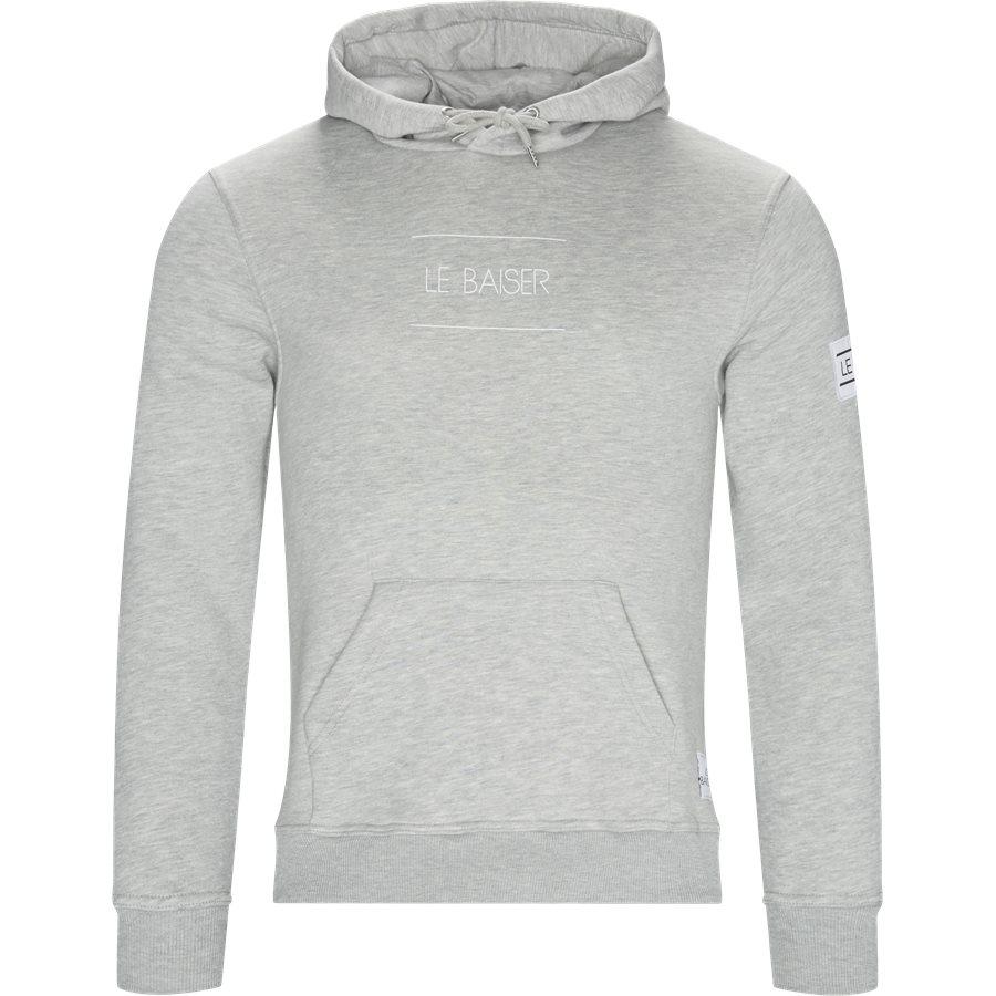 NANCY - Nancy Sweatshirt - Sweatshirts - Regular - GREY MELANGE - 1